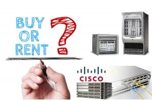 Bury or rent Cisco Hardware