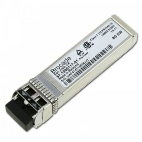 Brocade 57-1000117-01 Tri-Rate 2G/4G/8G Fibre Channel Shortwave SFP+ Transceiver-Ref