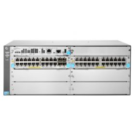 JL003A HPe 5406R 44GT PoE+ & 4-port SFP+ (No PSU) 4U Power over Ethernet Switch