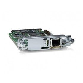 CISCO VWIC-1MFT-E1 Voice Data Interface Module.