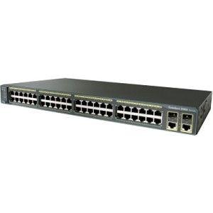 Cisco WS-C2960G-24TC-L Catalyst 2960 24 10//100 2 T//SFP LAN Base Image Certified Refurbished