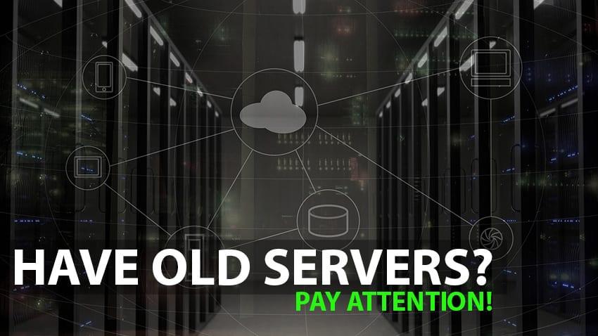 Got an old server?