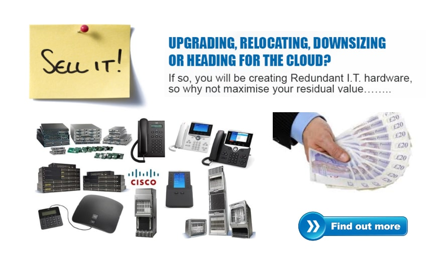 Get cash for old IT equipment