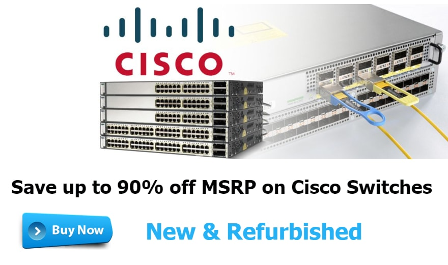 Buy Cisco switch